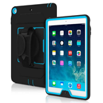 iPad and iPad with specialized case for easy holding.